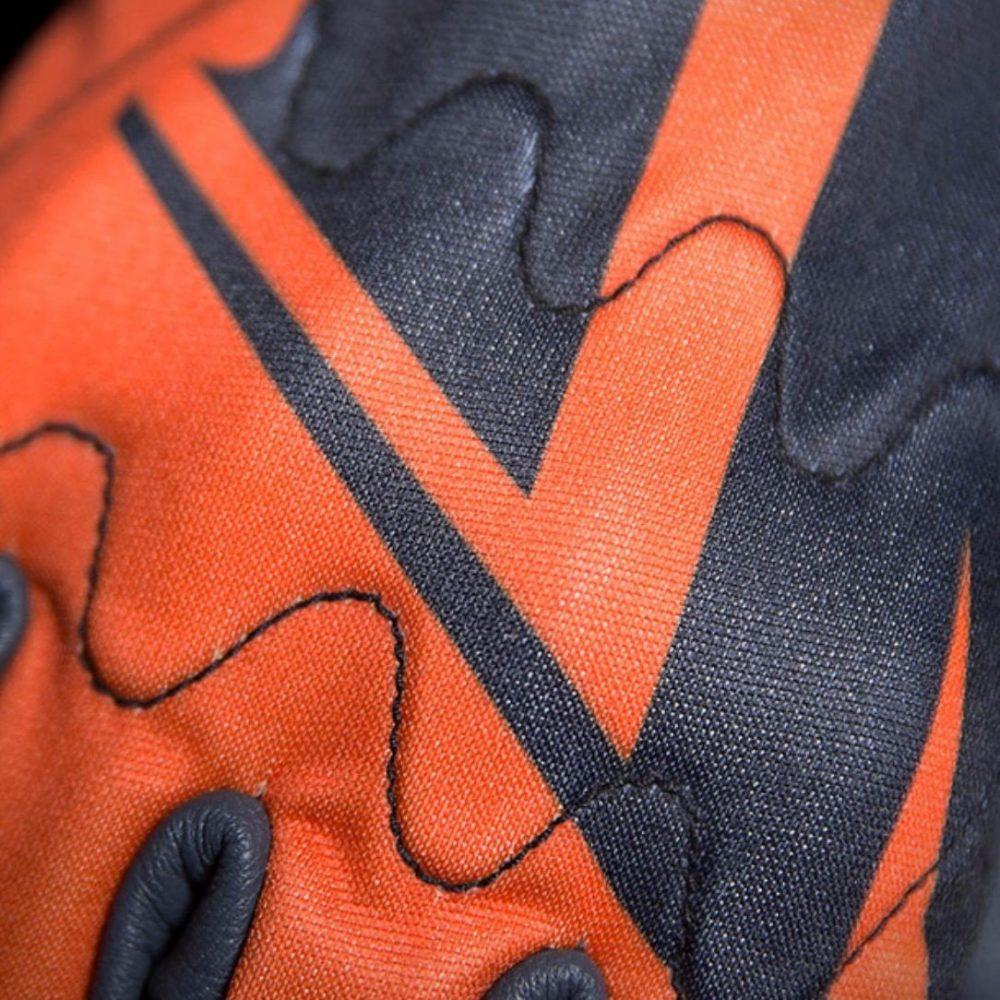 Guantes Icon Wireform Naranjas