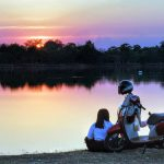 viajar en moto en pareja