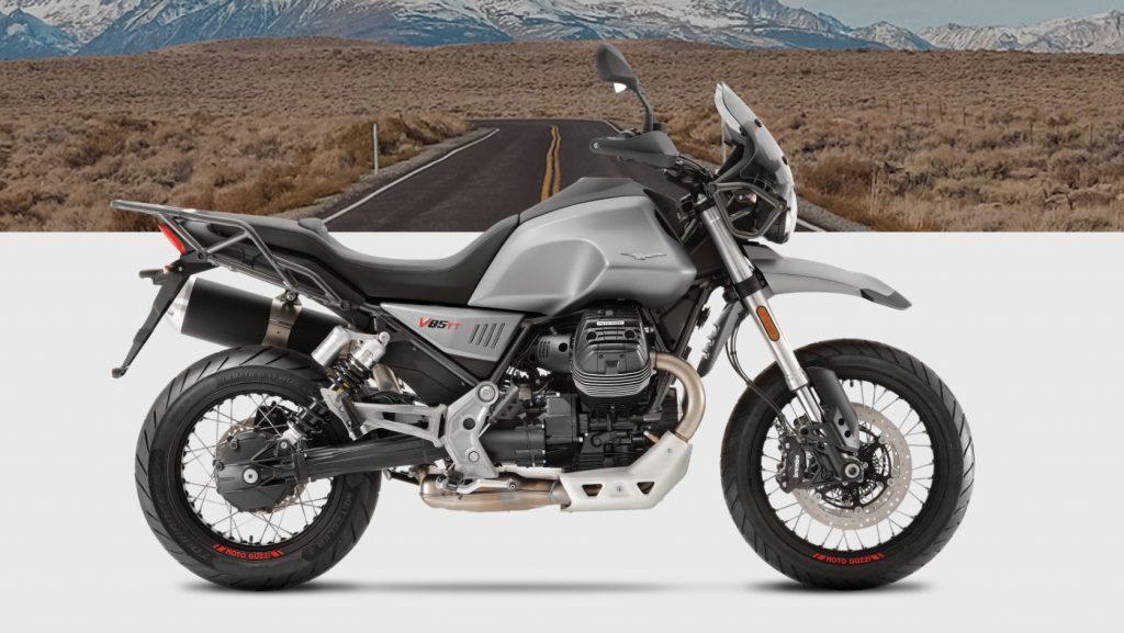 MotoGuzzi V85 en Madrid