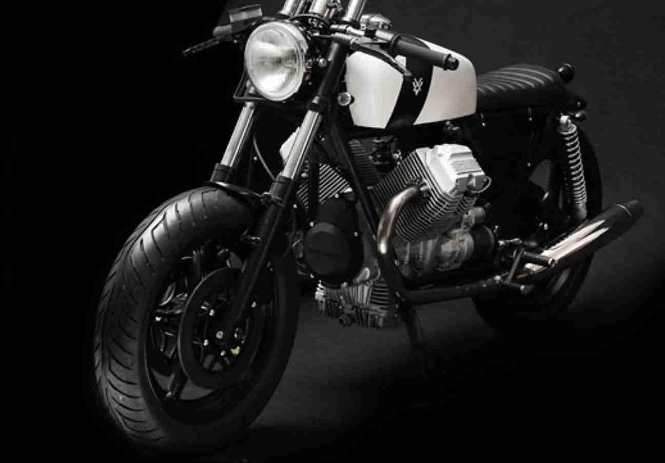 Moto Guzzi V75 de Venier Customs