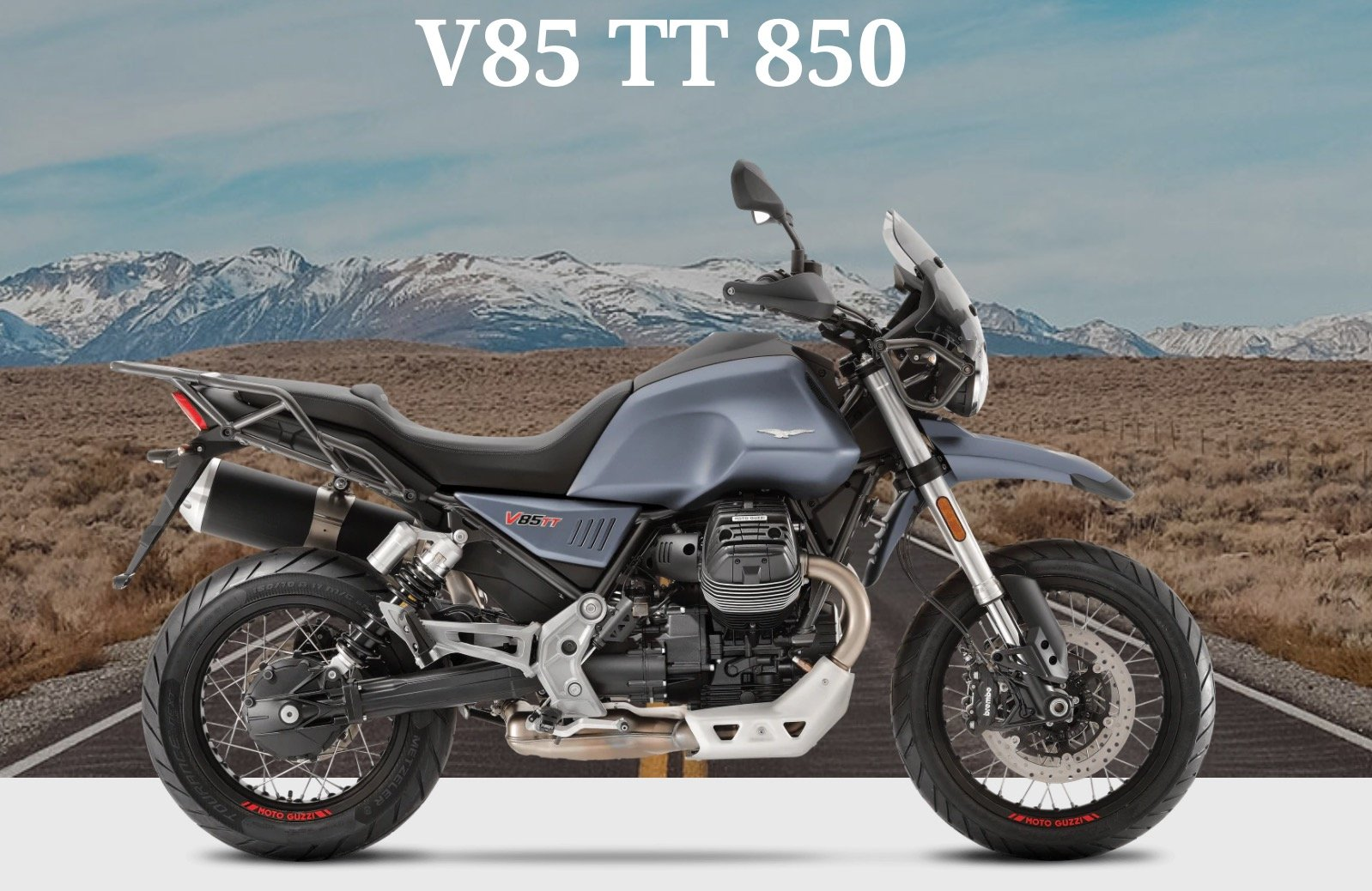 Motoguzzi V85 TT en Madrid