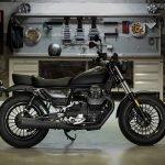 Moto Guzzi V9 en Madrid